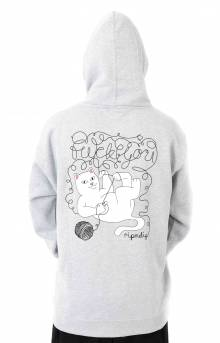 Tangled Pullover Hoodie - Ash Grey