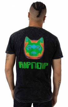 RIPNDIP, Thermal Nermal T-Shirt - Black Vintage Wash