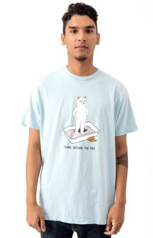 Think Outside T-Shirt - Baby Blue