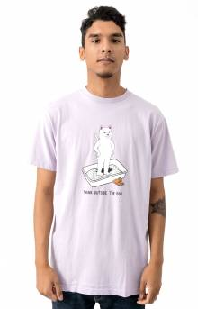 Think Outside T-Shirt - Lavender