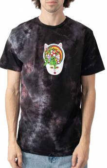 Touch Of Psych T-Shirt - Black/Lavender