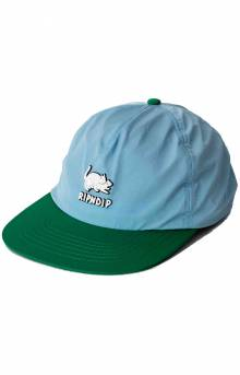 Two Nerms 5 Panel Hat - Blue/Green