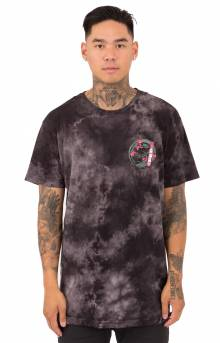 Warrior T-Shirt - Black/White Tie-Dye