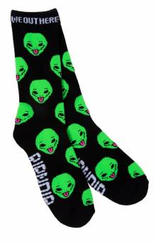 We Out Here Sock - Black