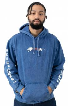 Zipperface Pullover Hoodie - Royal Blue