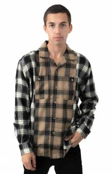 Collide Flannel Button-Up Shirt