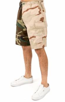 (1810) Rothco Two-Tone BDU Shorts - Woodland/Tri-Color
