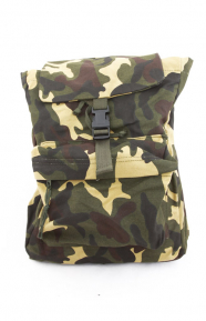(2370) Canvas Daypack - Woodland Camo