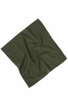 (4151) Solid Color Bandana - Olive Drab