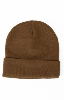 (5786) Rothco Deluxe Fine Knit Watch Cap - Coyote
