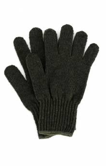 (8218) Wool Glove Liners - Olive Drab