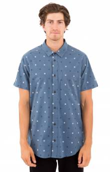 And Sons S/S Button-Up Shirt - Blue Slate