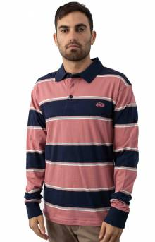 April Skies L/S Polo - Dusty Rose