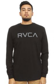 Big RVCA L/S Shirt - Black