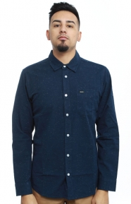 RVCA Clothing, Casey Button-Up Shirt - Federal Blue