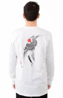 Fire Dance L/S Shirt - White