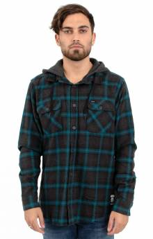Good Hombre L/S Button-Up Shirt - Charcoal Heather