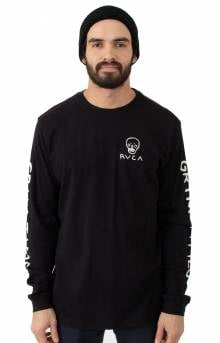 Grim Clown L/S Shirt - Black