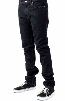 Hexed Denim Pants - Dark Indigo