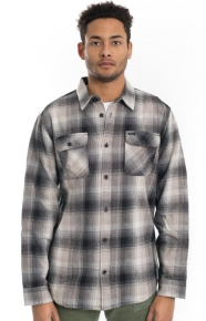 RVCA Clothing, Highland II Button-Up Shirt - Monument