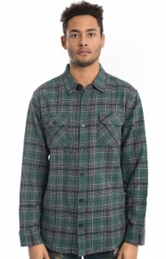 RVCA Clothing, Lowland Button-Up Shirt - Sequoia Green