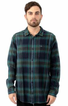 Ludlow Flannel Button-Up Shirt - New Navy