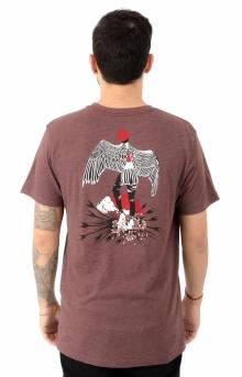 Matus Wings T-Shirt - Bordeaux