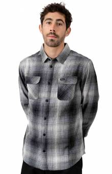 Muir Flannel Button-Up Shirt - Black
