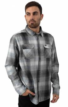 Muir Flannel Button-Up Shirt - Black/White