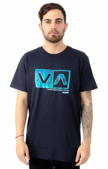 Riso Box T-Shirt - Navy