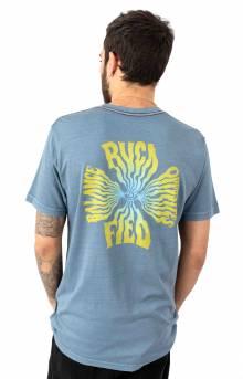 Rvcafied T-Shirt - China Blue