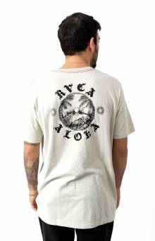 Sunset T-Shirt - Silver Bleach