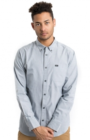 That'll Do L/S Oxford Button-Up Shirt - Pavement