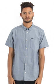 That'll Do Oxford Button-Up Shirt - Distant Blue