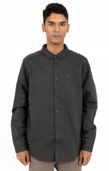 That'll Do Oxford L/S Button-Up Shirt - Black