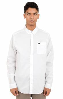 That'll Do Oxford L/S Button-Up Shirt - White