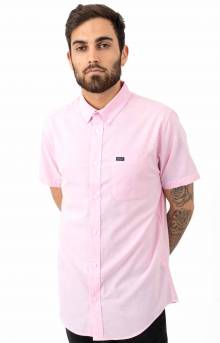 That'll Do Stretch Button-Up Shirt - Acid Pink