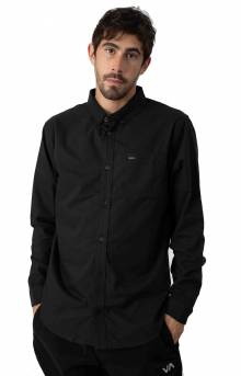 That'll Do Stretch Button-Up Shirt - Black