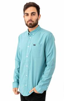 That'll Do Stretch Button-Up Shirt - Nile Blue
