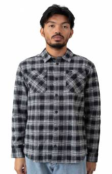 That'll Work Flannel Button-Up Shirt - Black