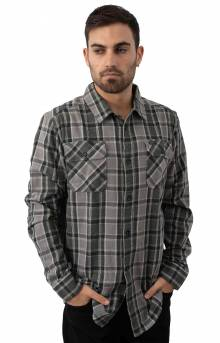 That'll Work Flannel Button-Up Shirt - Smoke