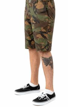 The Week End Stretch Shorts - Camo