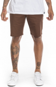 The Week End Stretch Shorts - Cocoa