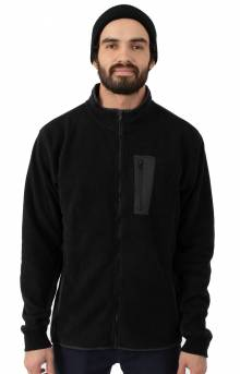 Theros Zip Polar Fleece Jacket - Black