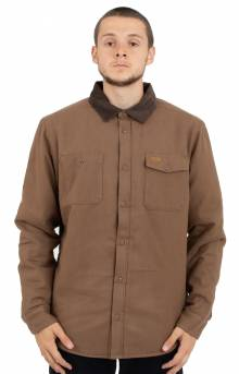 Victory Sherpa Button-Up Shirt - Wood