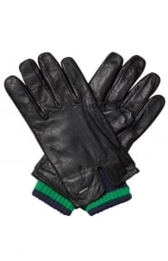 Scotch & Soda Clothing, Double Layer Gloves - Black