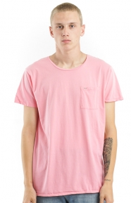Garment Dyed T-Shirt - Pink Ask