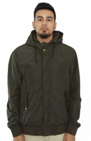 Scotch & Soda Clothing, Hooded Jacket - Military Green