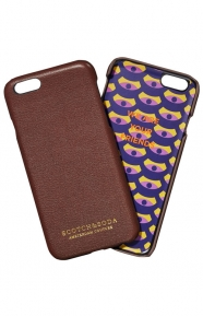 Scotch & Soda Clothing, Leather iPhone 6S Case - Brown