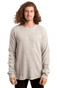 Long Sleeve Tee In Special Waffle Quality